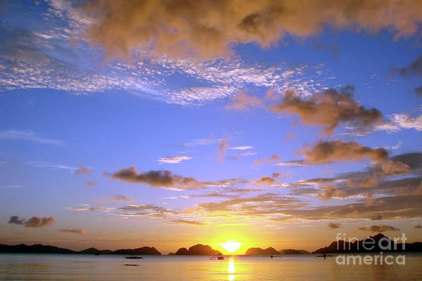 Philippines Photograph - Sunset In Paradise by Delphimages Photo Creations
