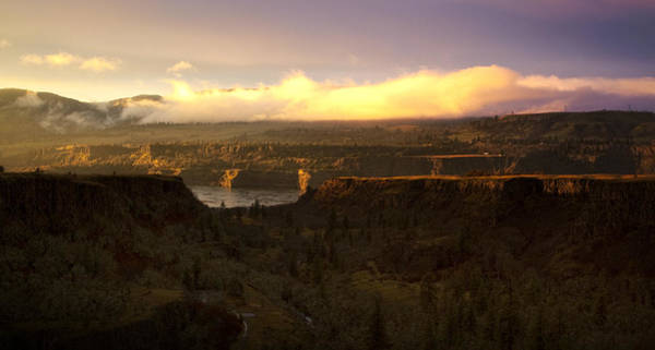 Photograph - Sunset In Rowena by Jon Ares