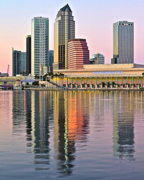 Busch Photograph - Sunset In Tampa by Frozen in Time Fine Art Photography