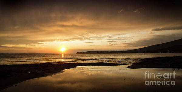 Photograph - Sunset In Thassos Greece by Daliana Pacuraru