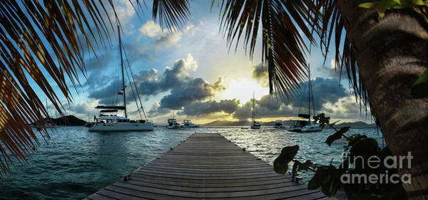 Wall Art - Photograph - Sunset In The Bvi by Jon Neidert