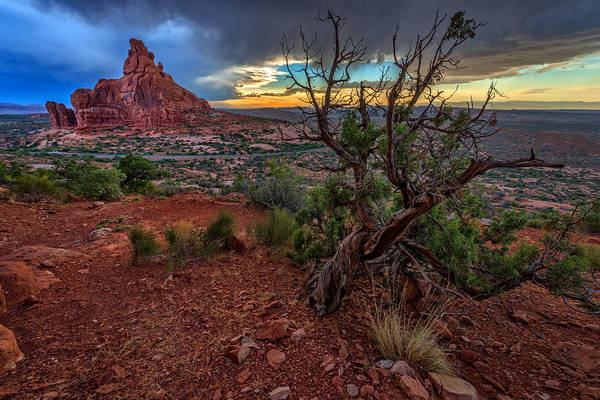 Photograph - Sunset In The Garden Of Eden by Rick Berk
