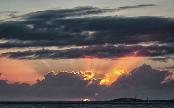 Photograph - Sunset In The Keys by Framing Places