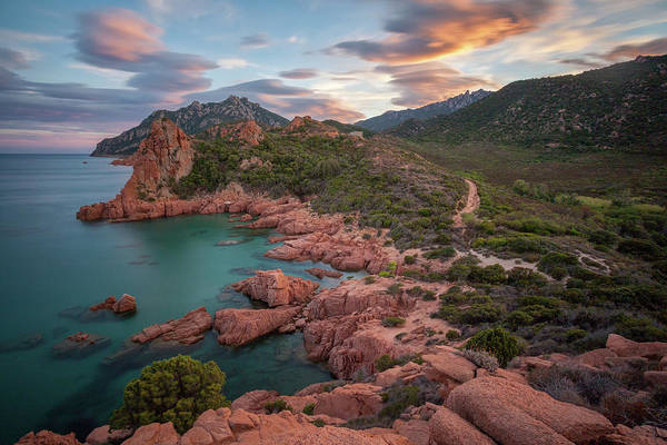 Photograph - Sunset In The Mountains by Daniele Fanni