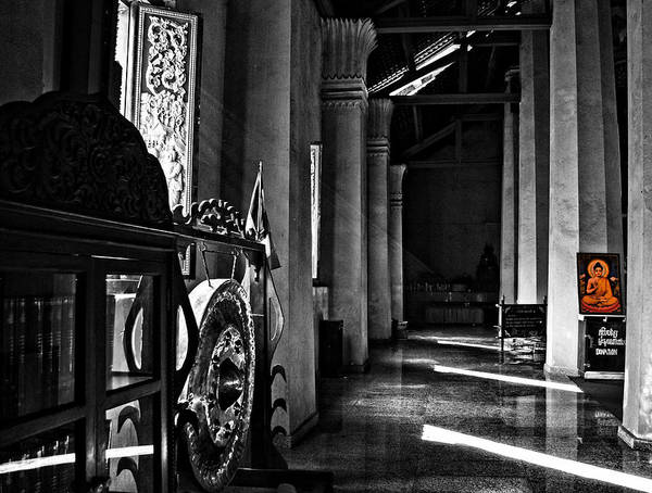 Photograph - Sunset In The Temple by Cameron Wood