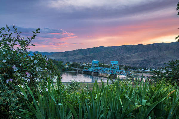 Lewiston Photograph - Sunset In The Valley by Brad Stinson