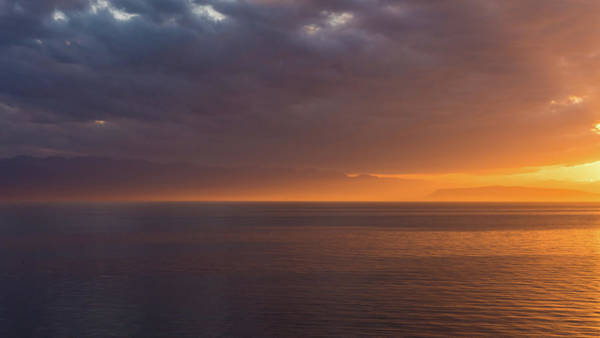 Photograph - Sunset In Tracey Arm by Brenda Jacobs