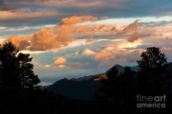 Photograph - Sunset In Ute Pass by Steve Krull