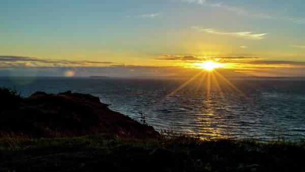 Photograph - Sunset In Weston-super-mare A Somerset England by Jacek Wojnarowski