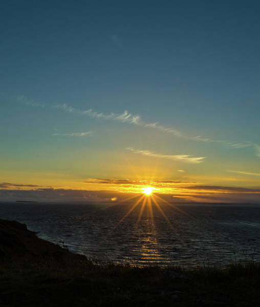 Photograph - Sunset In Weston-super-mare B Somerset England by Jacek Wojnarowski