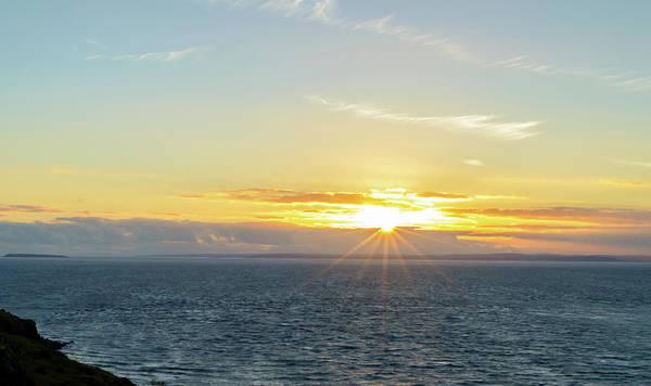 Photograph - Sunset In Weston-super-mare C Somerset England by Jacek Wojnarowski