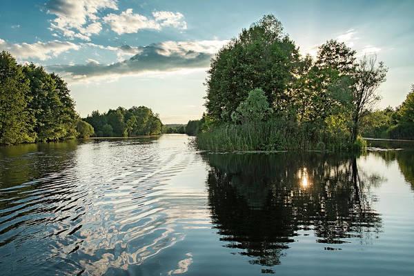 Photograph - Sunset Islet. Sedniv, 2015. by Andriy Maykovskyi