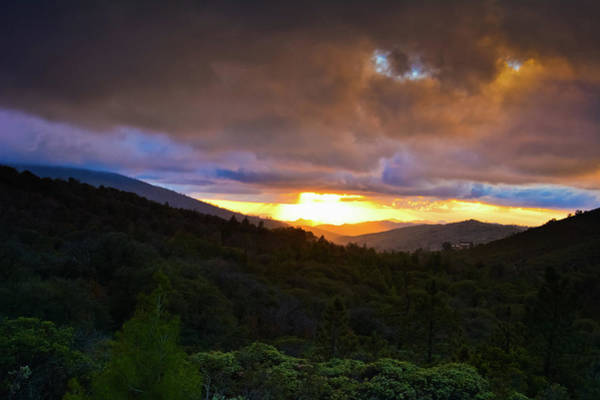Photograph - Sunset Julian San Diego by Kyle Hanson
