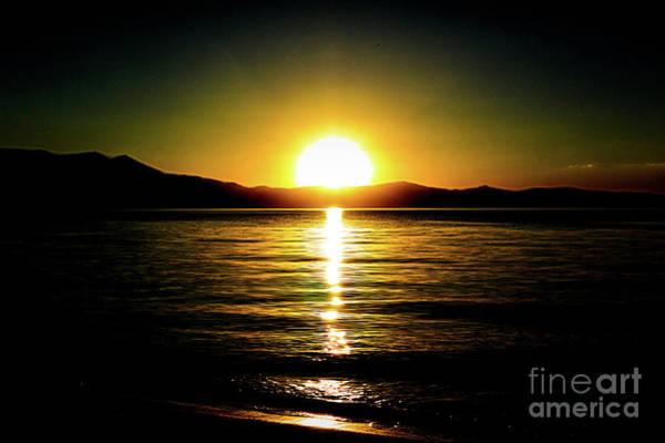 Photograph - Sunset Lake 2 by Joe Lach