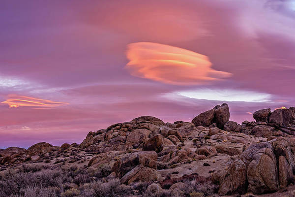 Photograph - Sunset Lenticular by John Hight