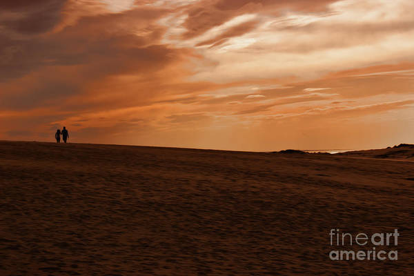 Jocky Photograph - Sunset Love by Tom Gari Gallery-Three-Photography
