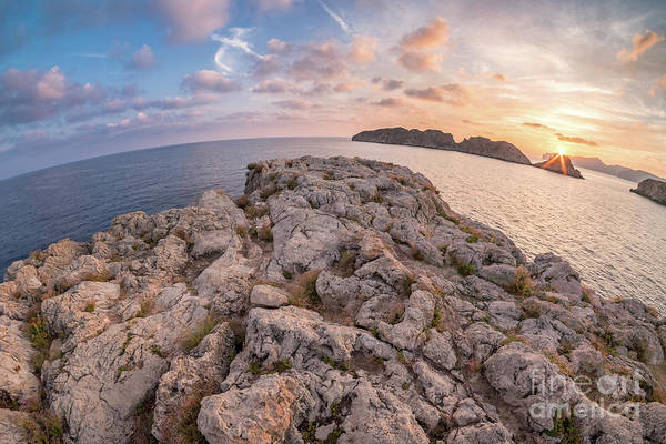 Photograph - Sunset Malgrats Island Wide Angle by Hans- Juergen Leschmann