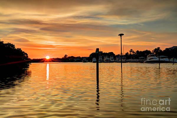Wall Art - Photograph - Sunset Marina  by Rick Mann