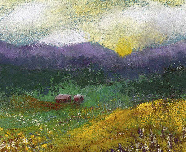 Painting - Sunset Meadow by David Patterson