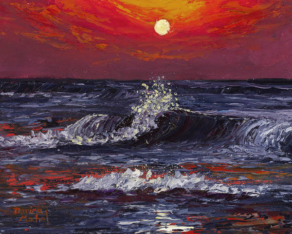 Painting - Sunset Melody  by Darice Machel McGuire