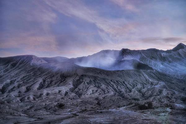 Rauch Wall Art - Photograph - sunset Mount Bromo - Java by Joana Kruse