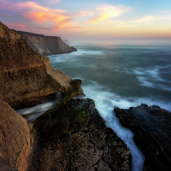 Wall Art - Photograph - Sunset North Coast by Steve Spiliotopoulos