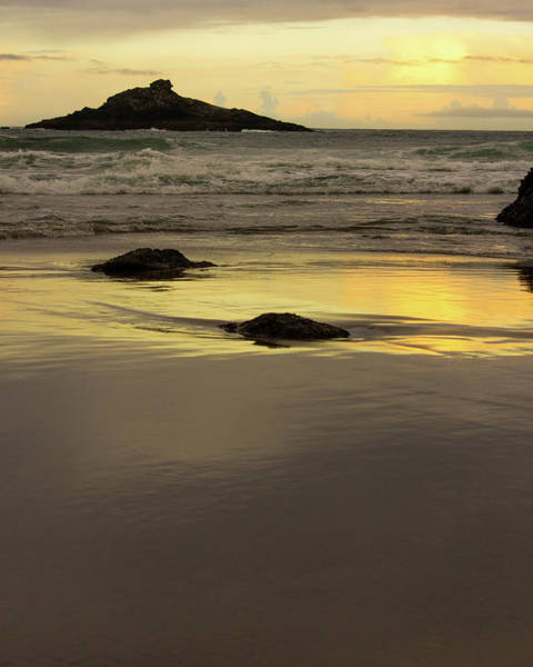 Photograph - Sunset Oceanscape by Jedediah Hohf