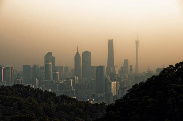 Photograph - Sunset Of Guangzhou by Jimmy LL Tsang