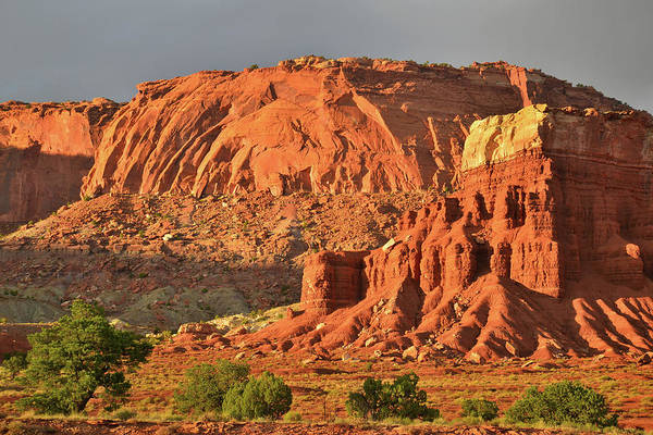 Photograph - Sunset On Capitol Reef National Park by Ray Mathis