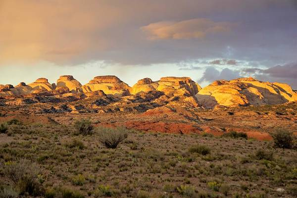 Photograph - Sunset On Capitol Reef by Tranquil Light Photography