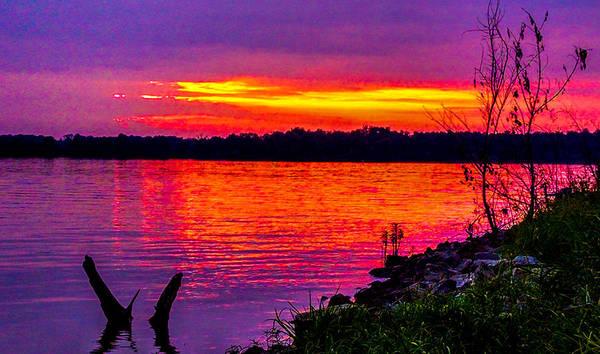 Photograph - Sunset On Crab Orchard by Jeff Kurtz