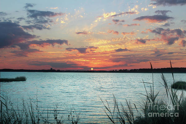 Rehoboth Beach Photograph - Sunset On Fenwick Island Delaware  by Delmarva Dreams
