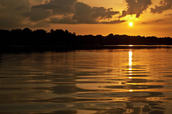 Photograph - Sunset On Hillsborough River by Carolyn Marshall