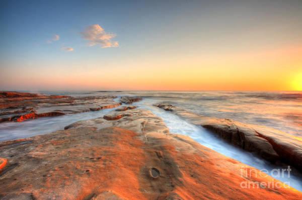 Wall Art - Photograph - Sunset On La Jolla Beach by Kelly Wade