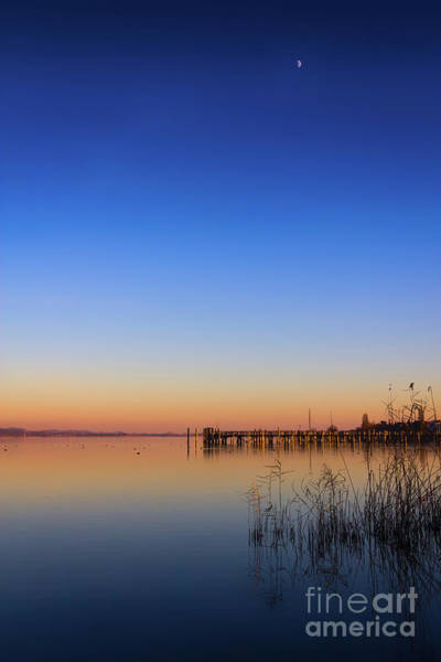 Photograph - Sunset On Lake Constance II by Bernd Laeschke