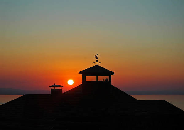 Photograph - Sunset On Lake Constance In Austria by Ginger Wakem