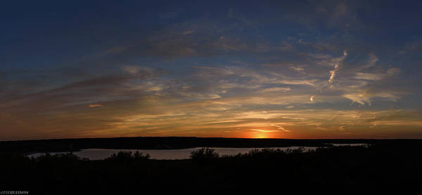 Photograph - Sunset On Lake Georgetown by Gaylon Yancy