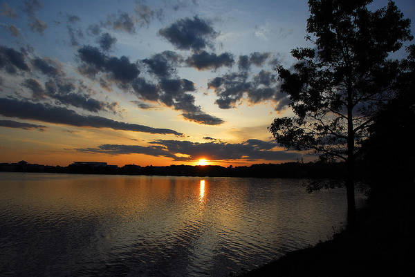 Photograph - Sunset On Lake Quannapowitt by AnnaJanessa PhotoArt
