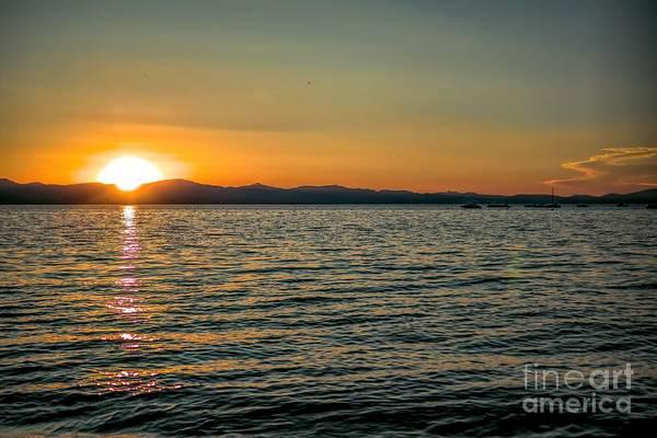 Photograph - Sunset On Left by Joe Lach