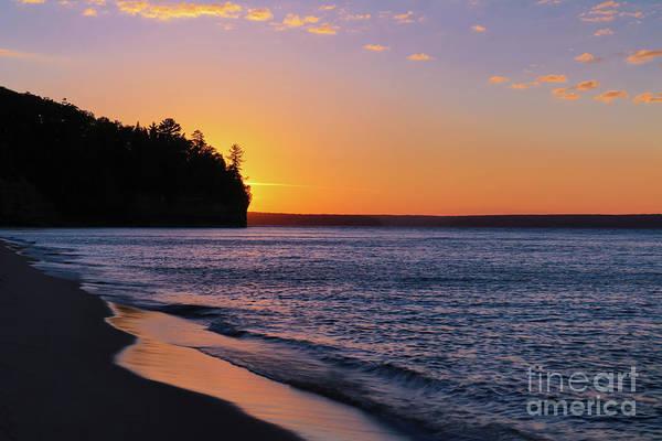 Photograph - Sunset On Miners Beach by Rachel Cohen
