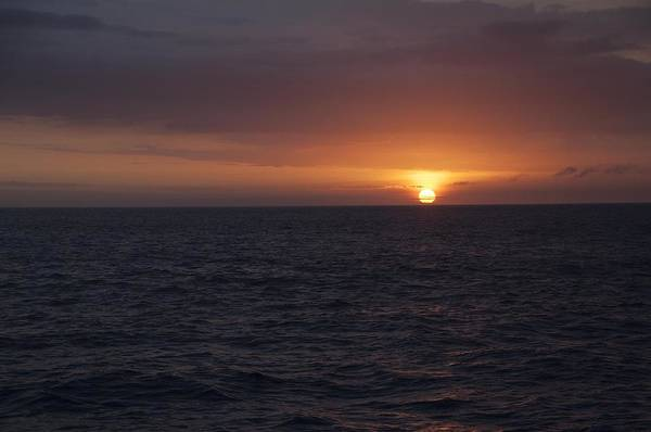Photograph - Sunset On Pacific Ocean by NaturesPix