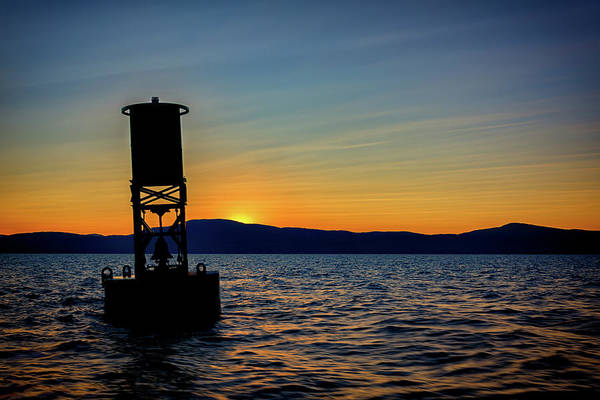 Wall Art - Photograph - Sunset On Penobscot Bay by Rick Berk