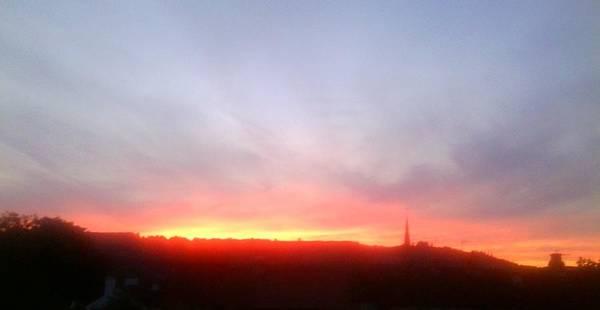 Photograph - Sunset On Ranmore by Julia Woodman