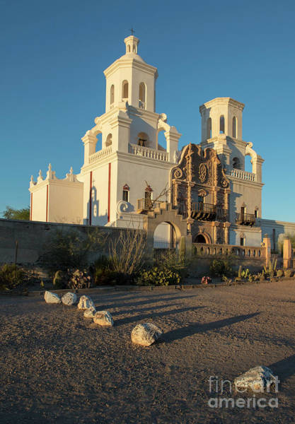 Wall Art - Photograph - Sunset On San Xavier Del Bac by Sandra Bronstein