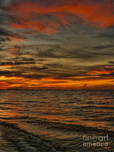 Photograph - Sunset On Sanibel Island 2 by Jeff Breiman
