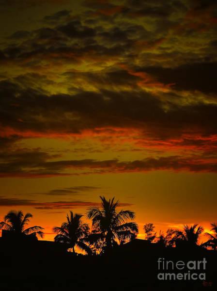 Photograph - Sunset On Sanibel Island I by Jeff Breiman