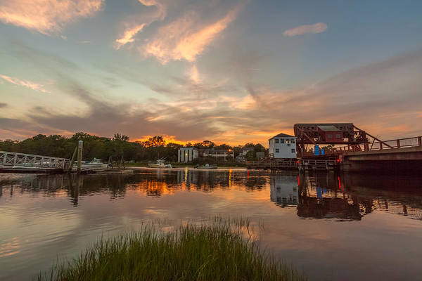Photograph - Sunset On The Drawbridge by Brian MacLean
