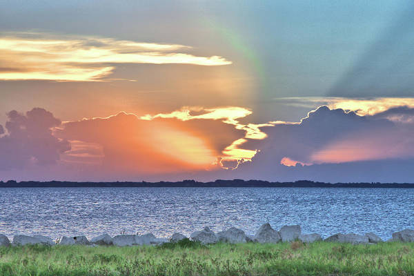 Photograph - Sunset On The Banana River by Gordon Elwell