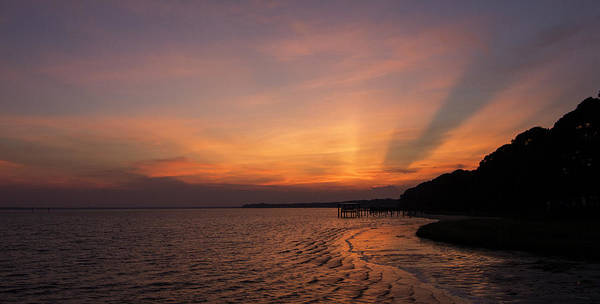Photograph - Sunset On The Bay by Dorothy Cunningham