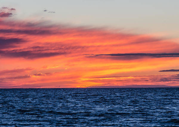 Photograph - Sunset On The Bay by Tom Potter